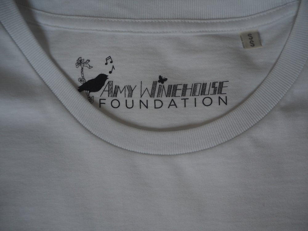Image of AWF Self-Portrait White T-Shirt