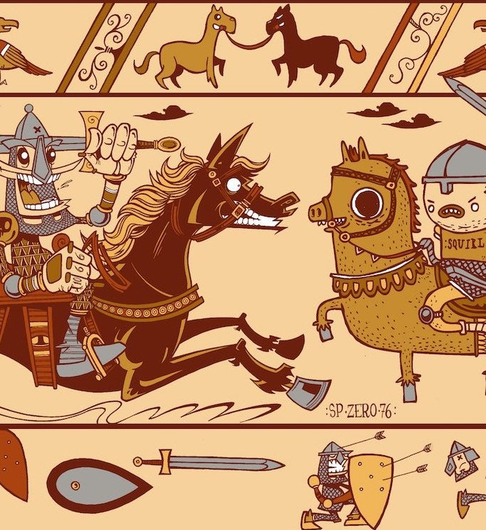 """Image of SPZERO76 & SQUIRL - """"Tapestry Take Two"""" - Exclusive Print"""