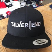 Image of Silver End Cap Snapback