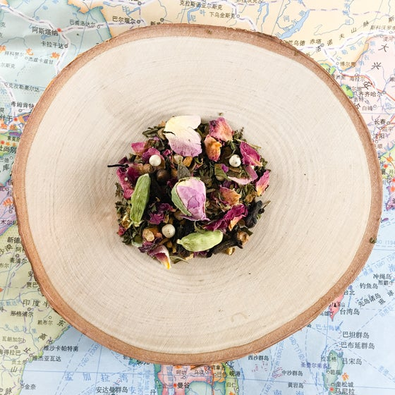 Image of Peppermint Rose Chai