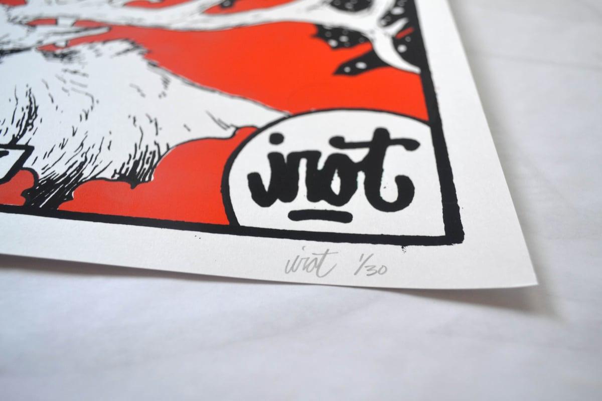 "IROT 18""x24"" Serigraph"