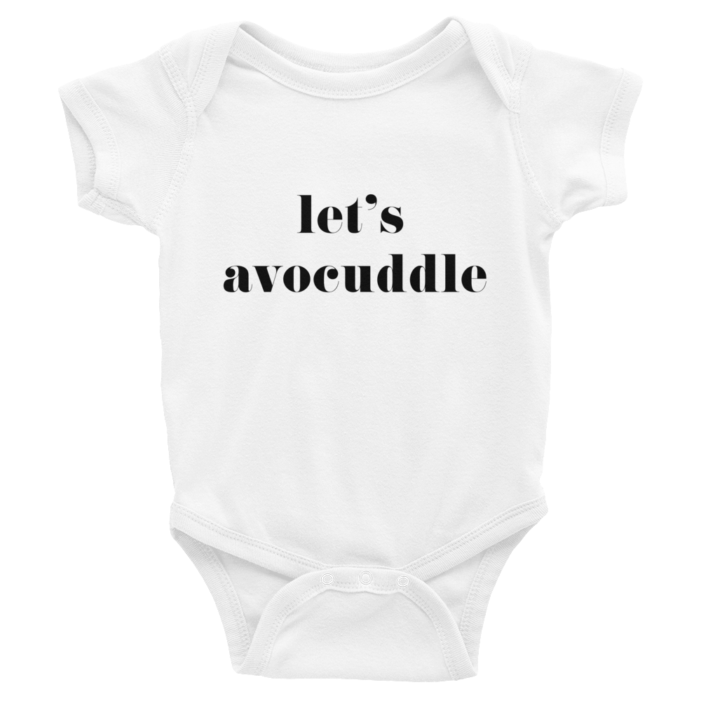 Image of Let's Avocuddle Baby Onesie