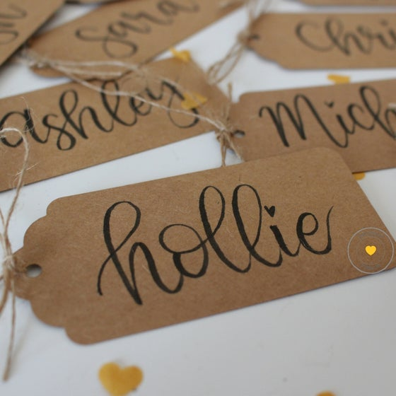 Image of Modern Calligraphy Place Cards