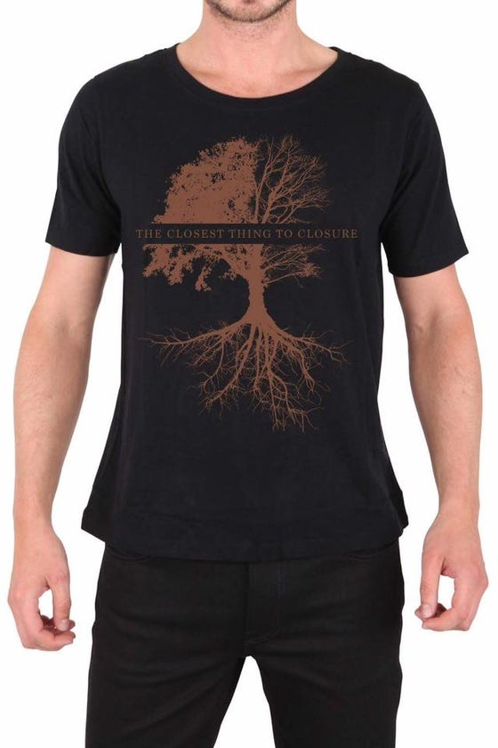 "Image of ""The Closest Thing to Closure"" Rust T-Shirt"