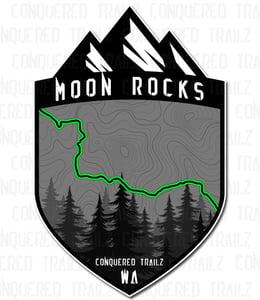 "Image of ""Moon Rocks"" Trail Badge"