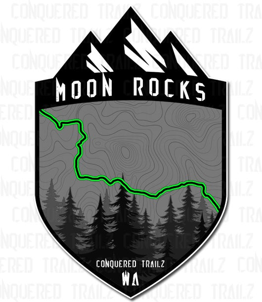 "Image of ""Moon Rocks"" Trail Badge"