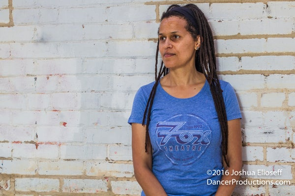 Image of Women's Fox Theatre Blue T-Shirt