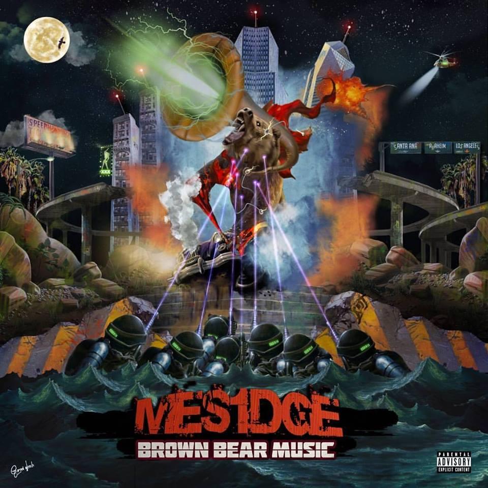 "Mesidge ""Brown Bear Music"" CD w/ Free Stickers"