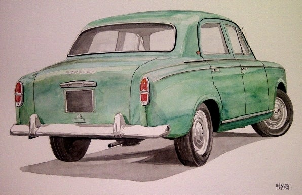 Image of PEUGEOT 403.