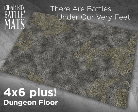 Image of Dungeon Floor -- 4x6 plus -- #420