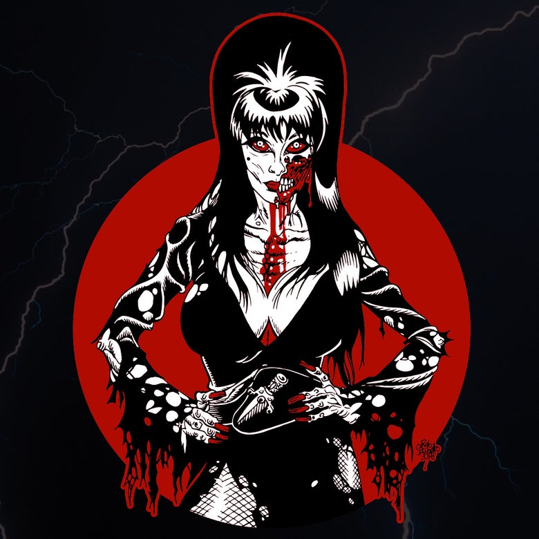 Image of Zombie Elvira