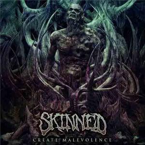 "Image of Skinned ""Create Malevolence"""" CD"
