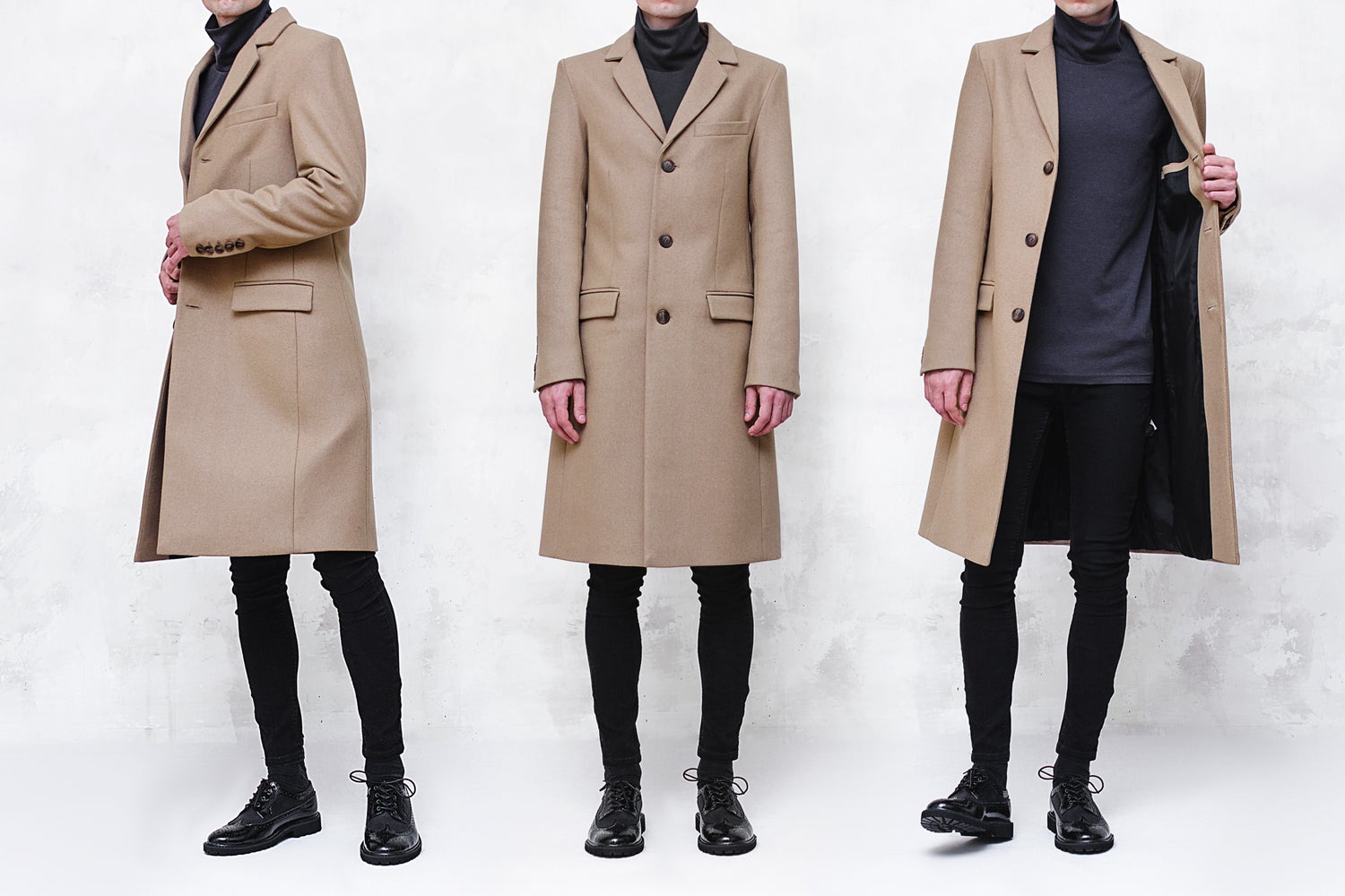 Image of LIMITED EDITION | Camel Wool-Blend Melton Top Coat