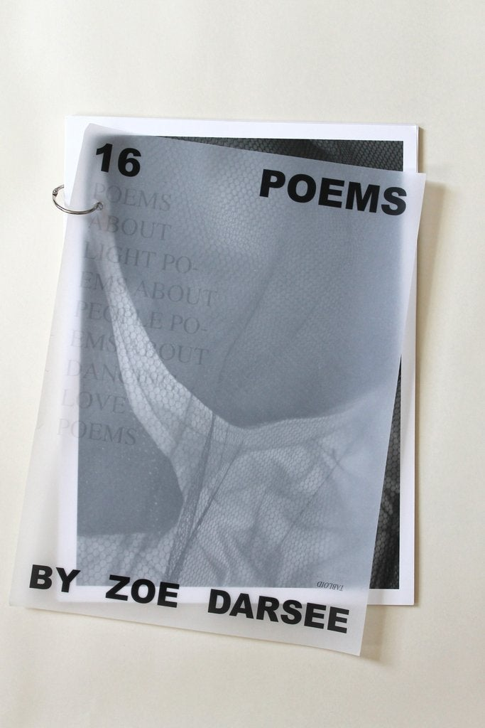 Image of 16 POEMS BY ZOE DARSEE