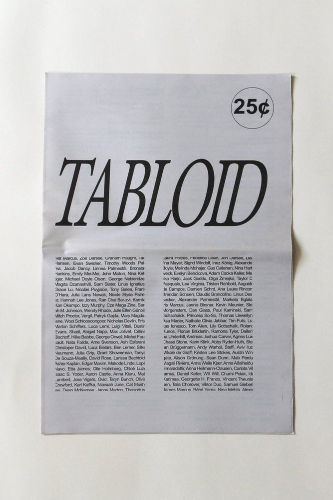 Image of TABLOID