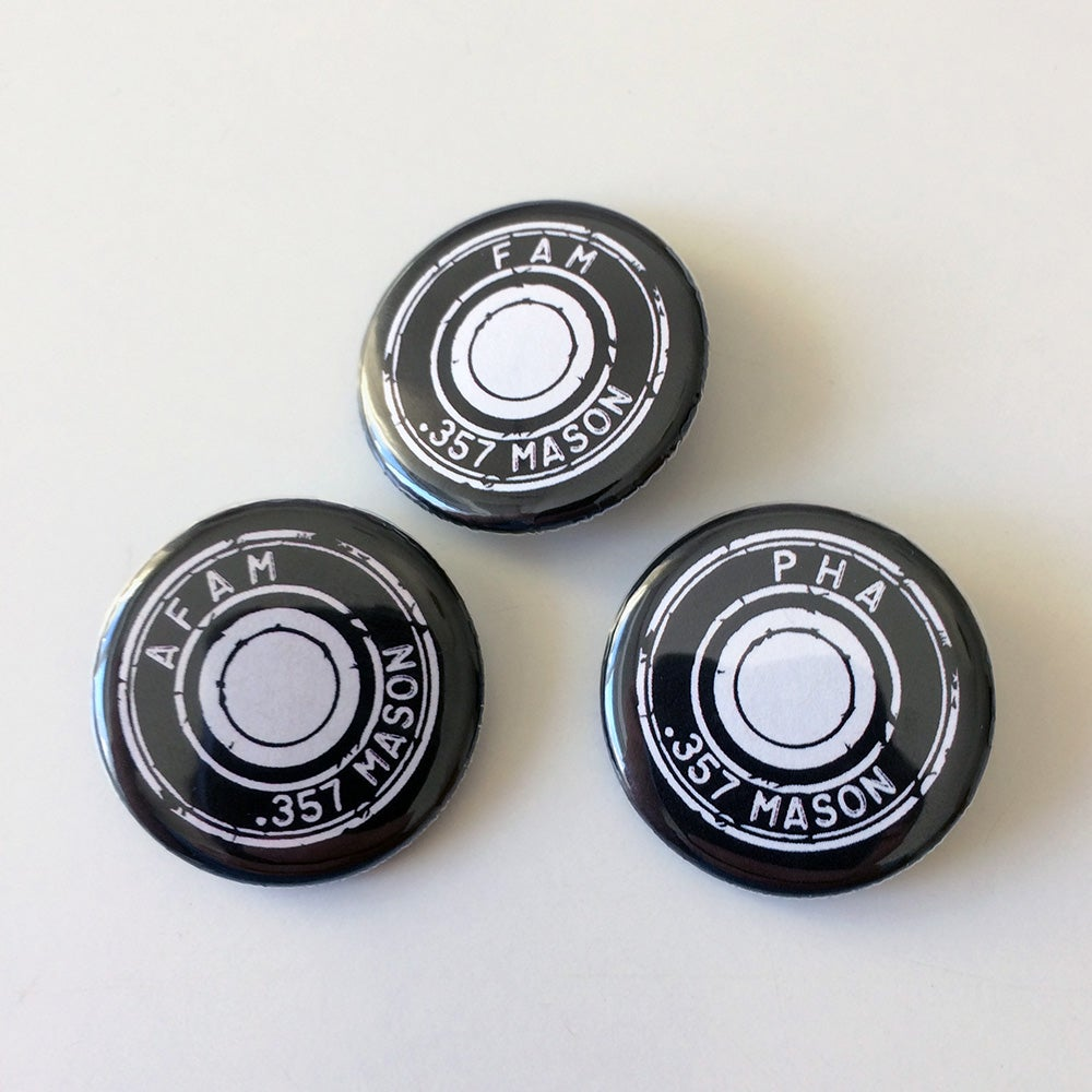 Image of .357 Mason buttons