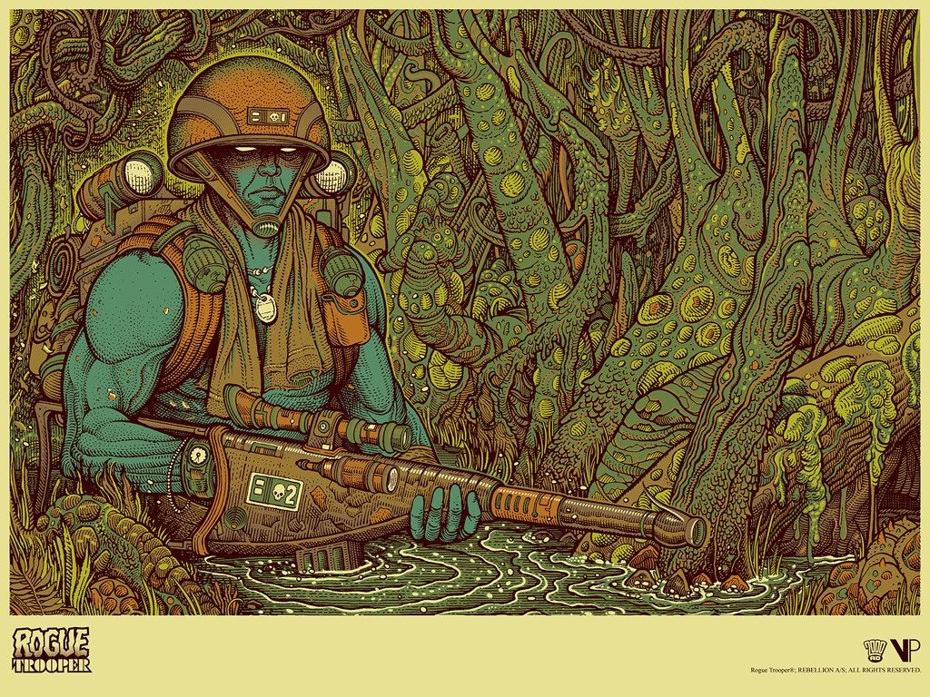 Image of Rogue Trooper Artist Edition