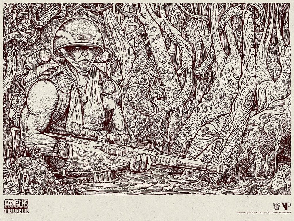 Image of Rogue Trooper Variant Edition