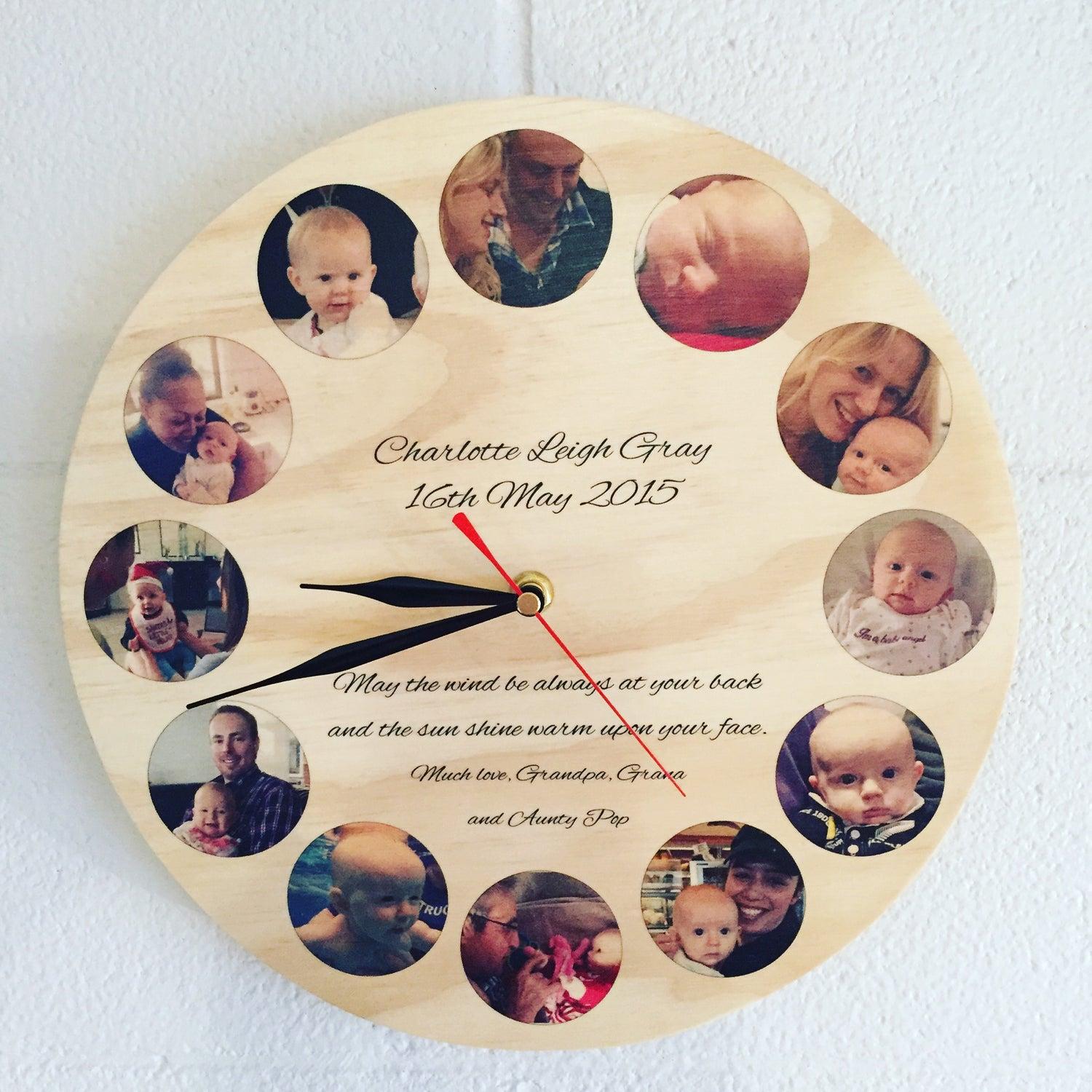 Image of Personalised Clock