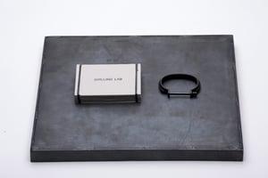 Image of DRILLING LAB - Clamp Bracelet (Black)