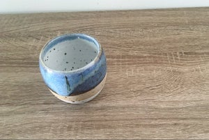 Image of sea spray blue mug
