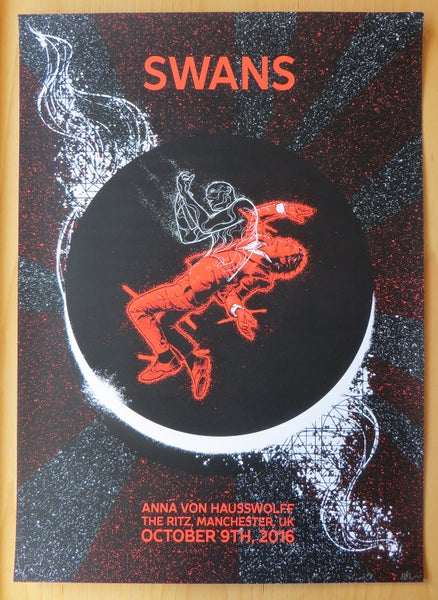 Image of Swans - Manchester 2016 Official Screen Print