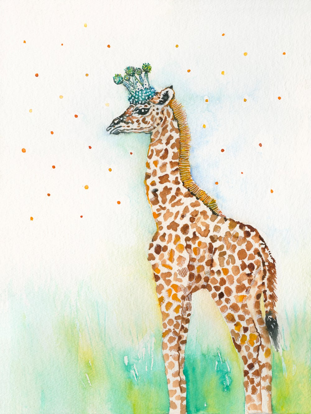 Image of Quin the baby Giraffe...FREE POSTAGE