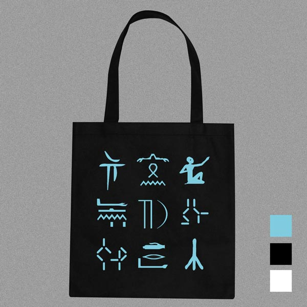 Image of Tid tote bag #2