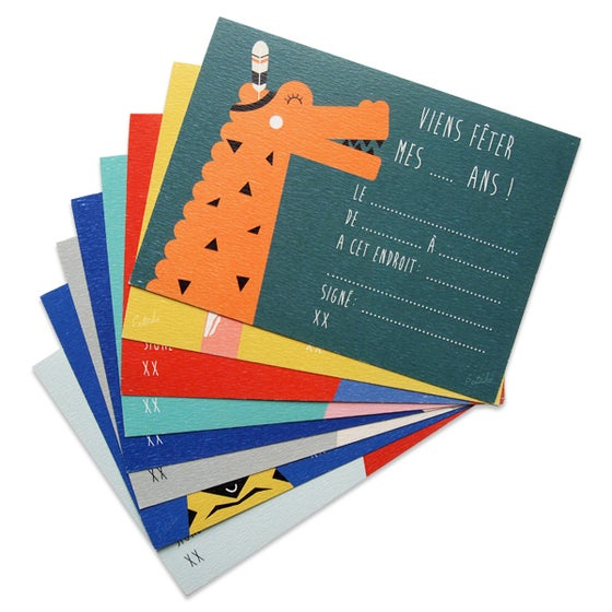 Image of Kit invitation Fête