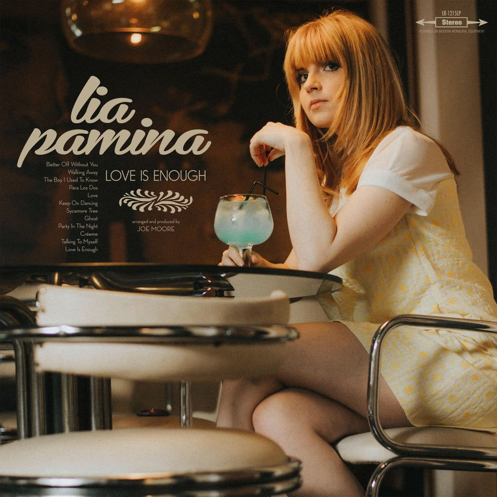 "Image of LIA PAMINA Love Is Enough (Limited 12"" vinyl with MP3s / CD)"
