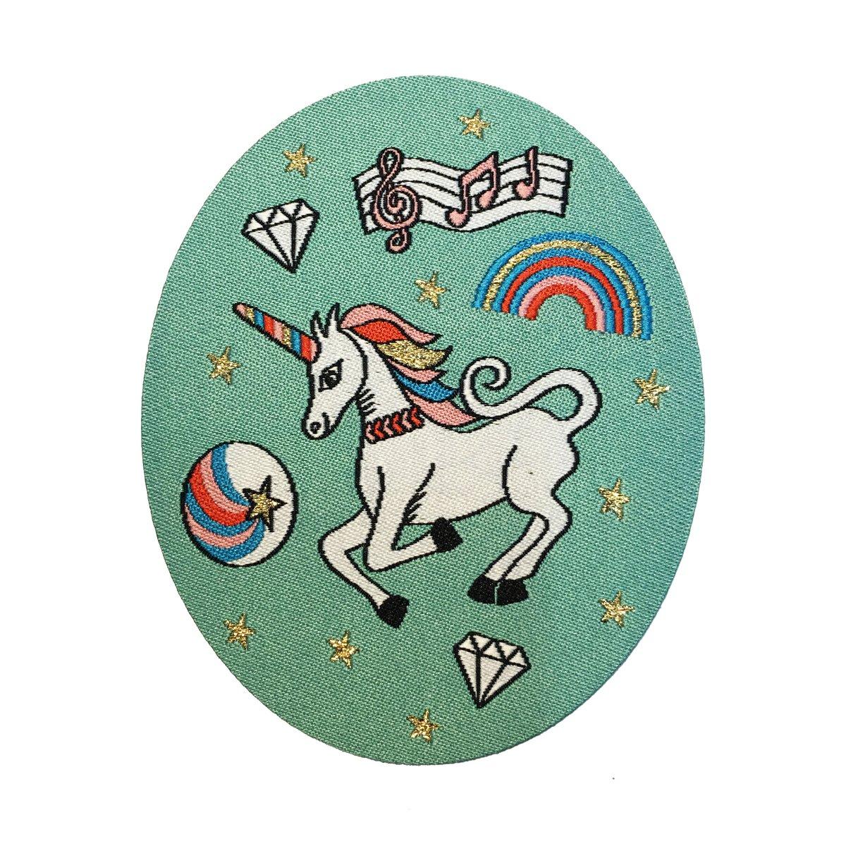 Rainbow Unicorn Iron-on Patch