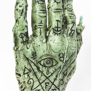 Image of Hand of Glory Green Marble Edition