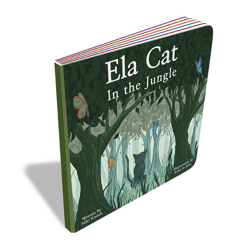Image of Ela Cat In The Jungle
