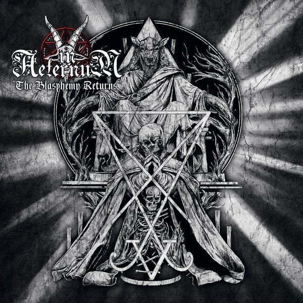 """Image of IN AETERNUM """"The Blasphemy Returns"""" 10"""" EP"""