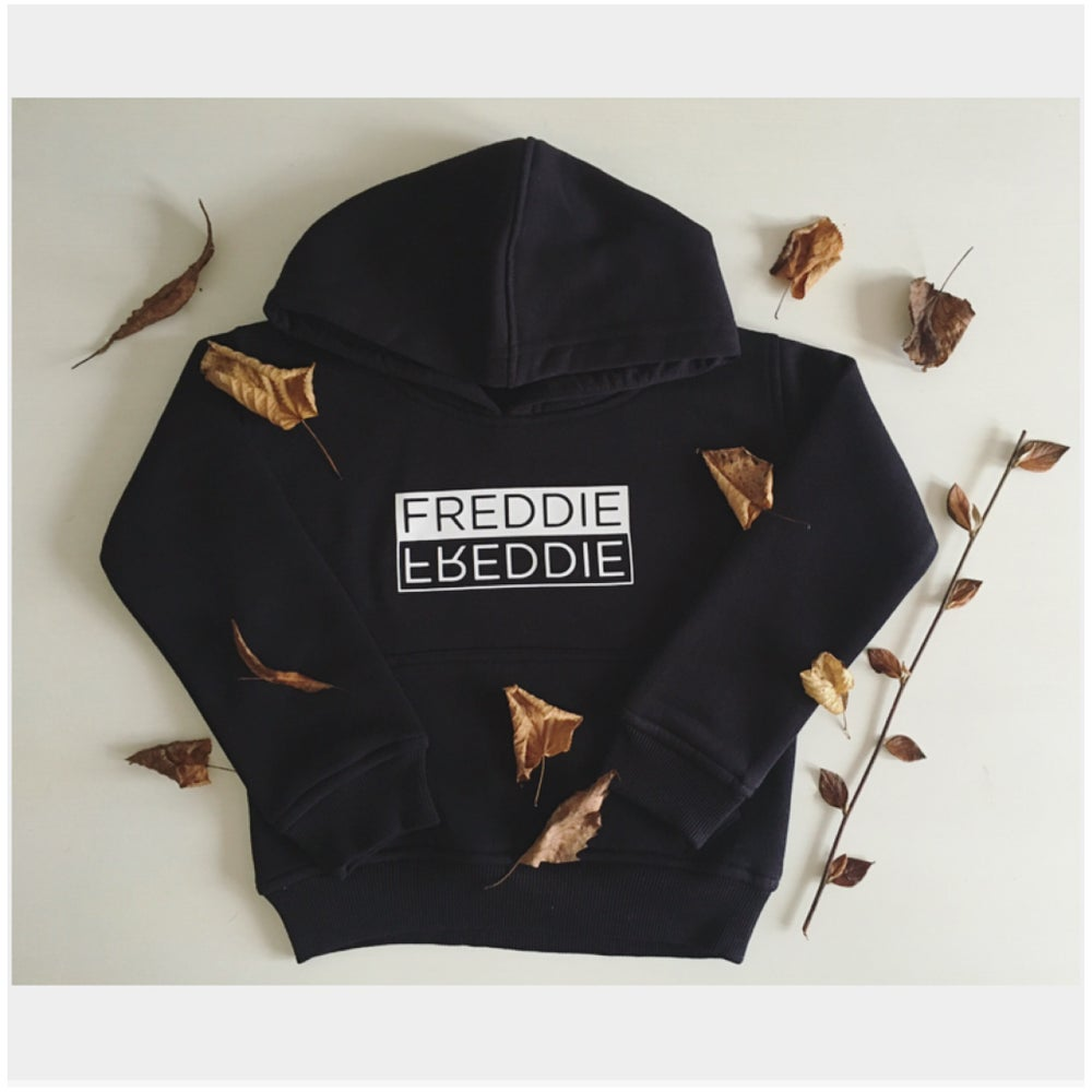 Image of Flip Name Personalised Hoodie / Sweatshirt
