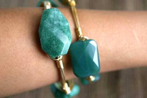 Image of Kelly Green Jade bangle