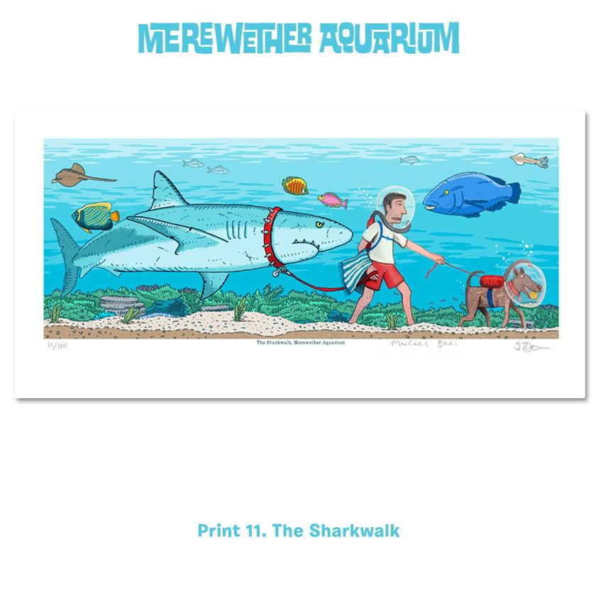 Image of 3. Merewether Aquarium A4 digital prints Nine to Eleven