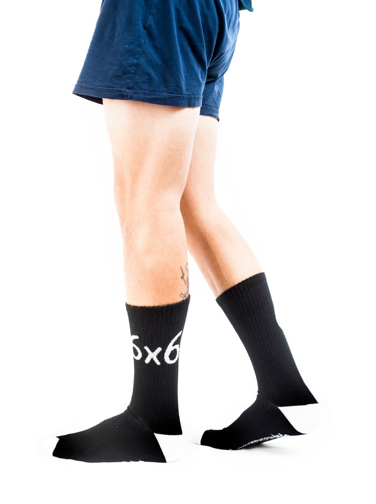 Image of 120 LOVE x SAVATE - 6x6 SOCKS