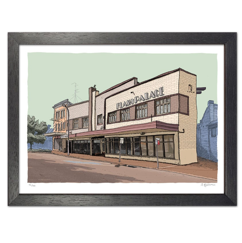 Image of Flash Palace, Maitland, digital print