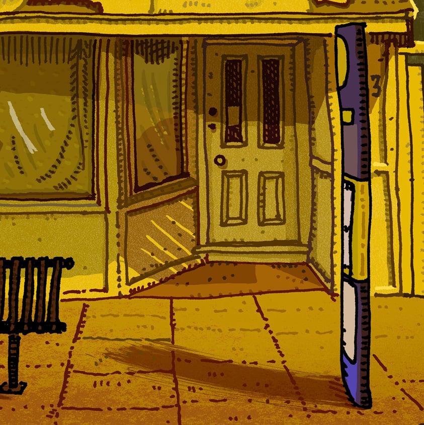 Image of 83 Melbourne Street, East Maitland, digital print