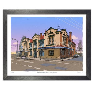 Image of Grand Junction Hotel, Maitland, digital print