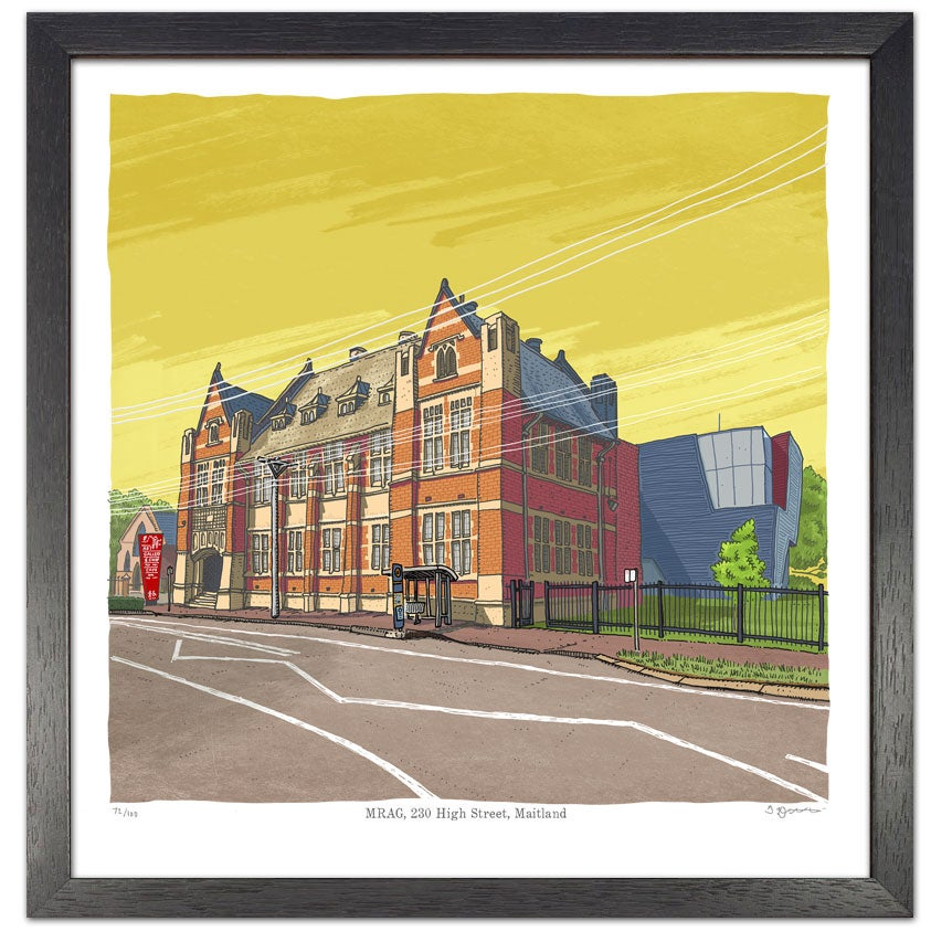 Image of Maitland Regional Art Gallery, digital print