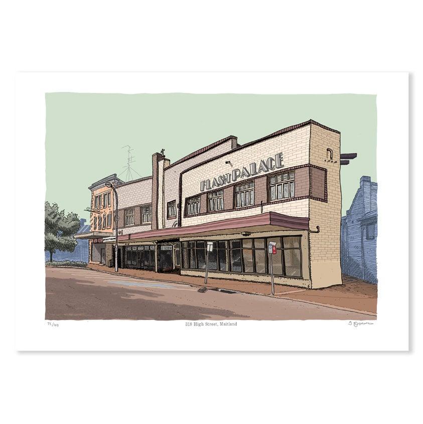 Image of Flash Palace, Maitland, digital print