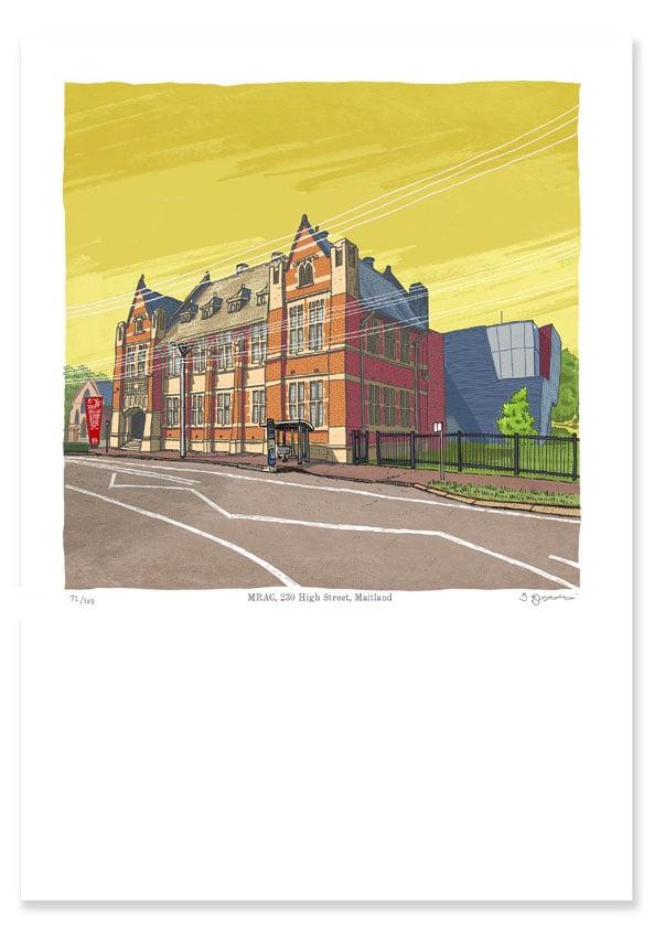 Image of Maitland Regional Art Gallery, digital print