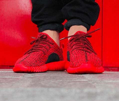 Adidas Yeezy Boost 350 Low Custom Red