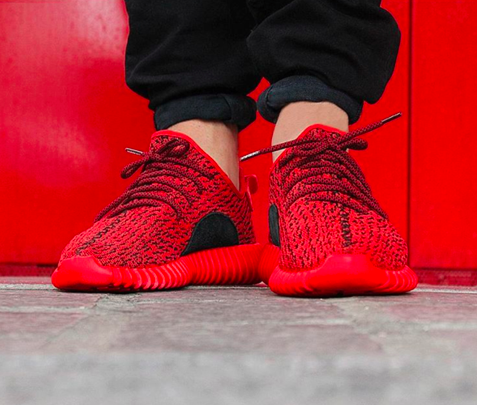TheUrbanf — Adidas Yeezy Boost 350 Low Custom Red October 2d8c9002a27c