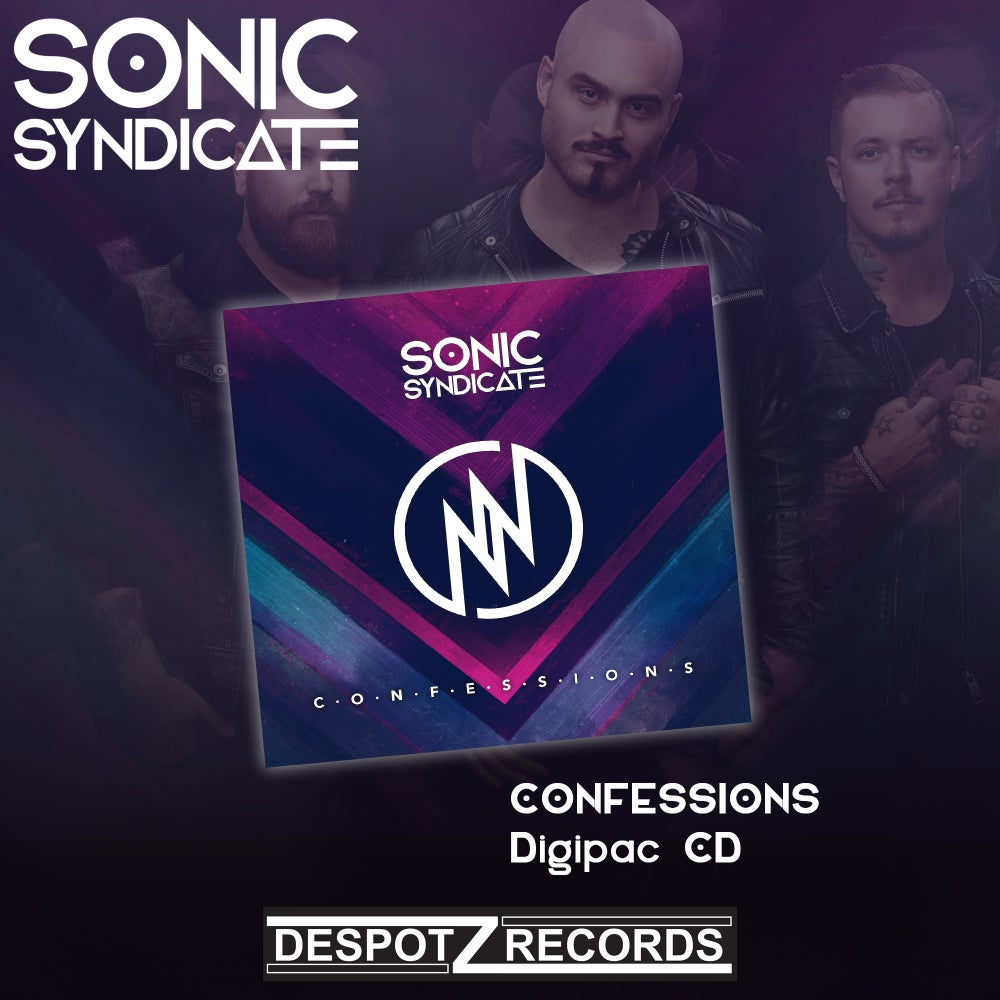 Image of Sonic Syndicate - Confessions (Limited Digipac CD)