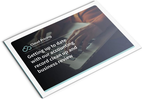 Image of Clean Up and Business Review Brochure Design