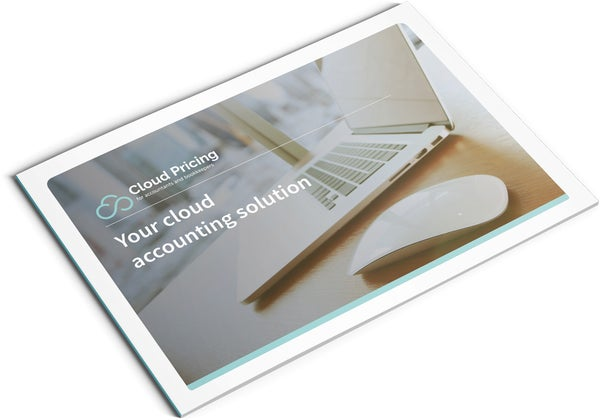 Image of Cloud Accounting Brochure Design