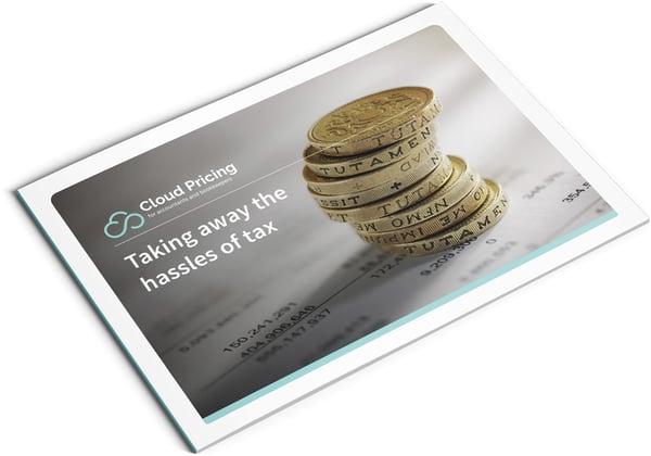 Image of Cloud Tax Brochure Design